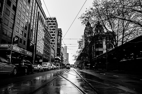 Melbourne Streets by David Petranker