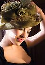 Lady in a Green Hat by Heather Buckley