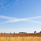 Crossover - Transecting Condensation Trails by kenhay