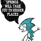 Spring Wisdom Hedgehog by stevontoast
