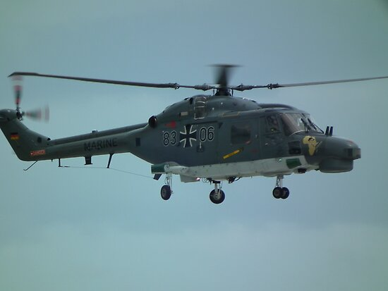German Navy Super Lynx by mike  jordan.
