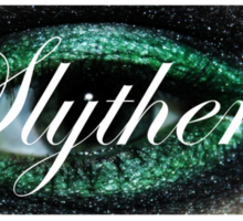 The ancient house of Slytherin Sticker