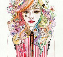 Rainbow by pinktonguetiger