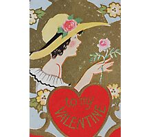 1920s Valentine 9 Photographic Print