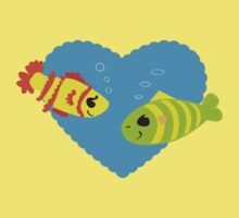 Fish in Love Kids Clothes