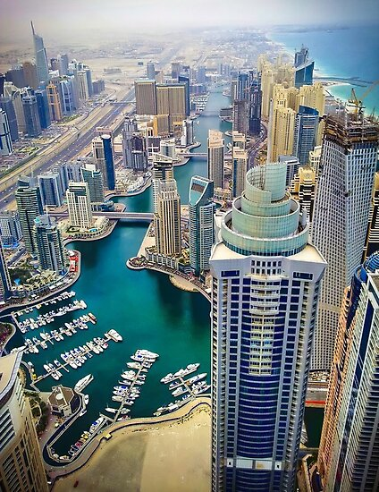 Dubai Marina by steadyeddie