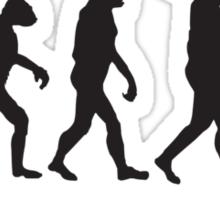 Evolution Of Manc Sticker
