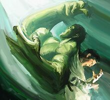 The Impressionable Hulk by stevontoast