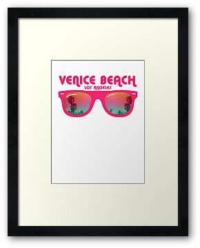 Venice Beach Sunglasses reflect by WAMTEES