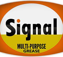 Signal Multi-Purpose Grease vintage sign crystal version by htrdesigns