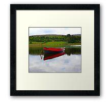 Lough Fern Fishing Boat Framed Print
