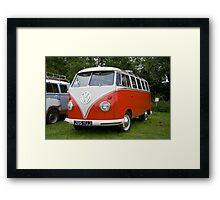 VW 9847 Framed Print