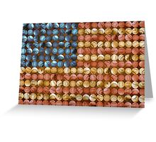 Baseball Flag - America's Past time Greeting Card