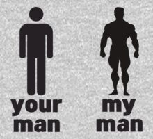 Your man vs my man by WAMTEES