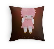 The Second Child Throw Pillow