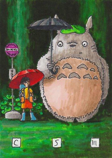 Totoro by cs3ink