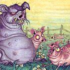 momma pig by Ejay Basford