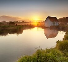 The Old Fishing Hut by George Johnson