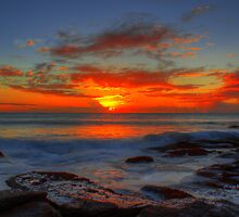 Collaroy sunrise by GJBimages