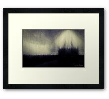 Within the Darkness Framed Print