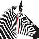 Red Line Zebra by jlv-