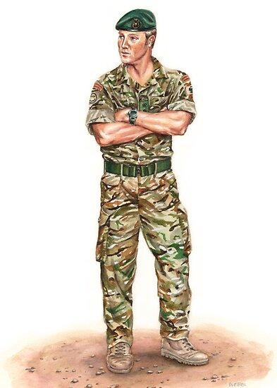 wonder-webb › Portfolio › Royal Marine Officer