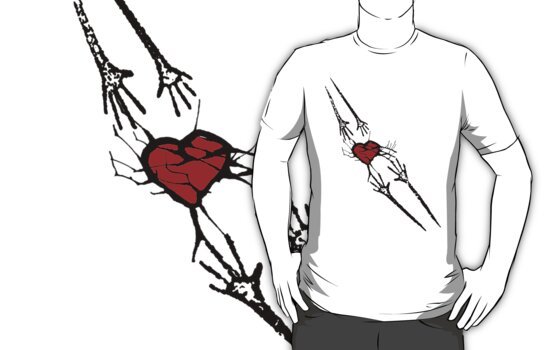 Reach for Love T-Shirt by Denis Marsili