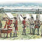British Troops at the Battle of Quebec 1759 by wonder-webb