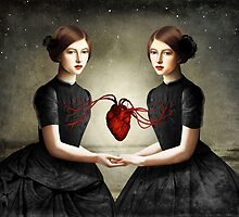 Twin Heart by ChristianSchloe
