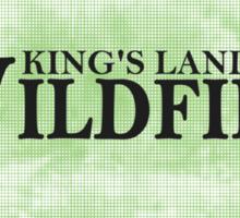 Kings Landing Wildfire Sticker