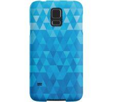 jewel background blue Samsung Galaxy Case/Skin