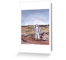 Rust Coloured Soil Greeting Card