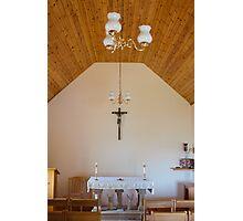 Building, Chapel, Stone altar Photographic Print