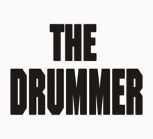 THE DRUMMER (DAVE GROHL / TAYLOR HAWKINS) Kids Clothes