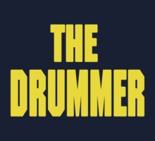 THE DRUMMER (DAVE GROHL / TAYLOR HAWKINS) YELLOW by DanFooFighter