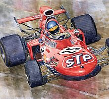 March 711 Ford Ronnie Peterson GP Italia 1971 by Yuriy Shevchuk