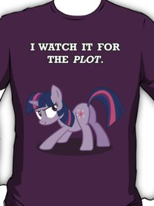 For the Plot (Twilight) T-Shirt