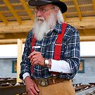 Jack, Old Timer, Gold fields, Fairbanks, Alaska, 2012. by johnrf