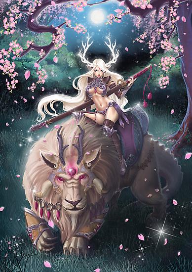Forest Princess by Tsuyoshi