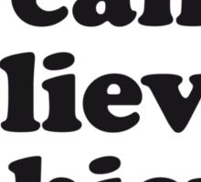 Dream Believe Achieve Sticker