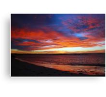 Beachport Sunrise Canvas Print