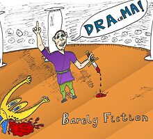 Euroman DRAchMA comic strip for the binary options news by Binary-Options