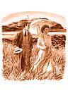 Edwardian Couple (sepia) by wonder-webb