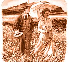 Edwardian Couple (sepia) by wonder-webb