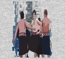 Maori Boys dancers Kids Clothes