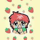 Ichigo Iphone Case by Mhaddie