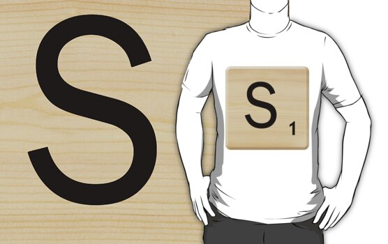 Scrabble Letter S	 by Scrabbler