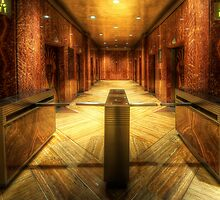 Chrysler Building Elevator Lobby by Yhun Suarez