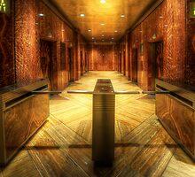 Chrysler Building Elevator Lobby by Yhun Suarez