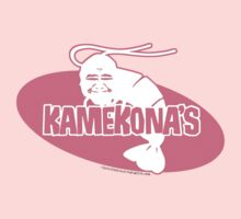 Kamekona's Shrimp logo from Hawaii 5-0 S2 (Pink + White Fill) by Sharknose